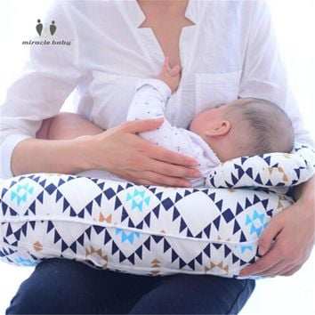 MIRACLE BABY Care 2 in 1 Multifunctional U-Shaped Maternity Nursing Breastfeeding Pillow Infant Cover Slip Protect Waist Cushion