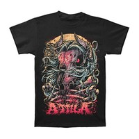 Attila Men's  Goat Head T-shirt Black Rockabilia