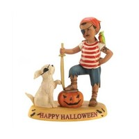 Matey`s Forever Halloween Decor Figurine