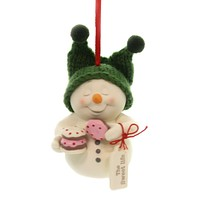 Holiday Ornaments THE SWEET LIFE Porcelain Christmas Snowpinions 6001855