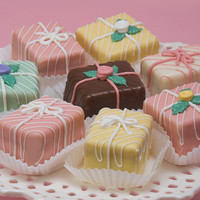 The Classic Packages Petits Fours Box of 35 (Seasonal. Available early March.)