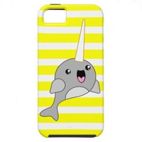 Kawaii Narwhal Case - Choose Your Colour! iPhone 5 Covers from Zazzle.com