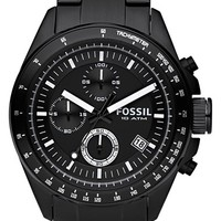 Men's Fossil Chronograph Tachymeter Watch, 44mm
