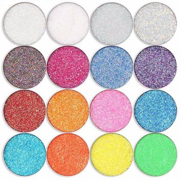 Crushed Diamonds Glitter Single Pressed Eye Shadow