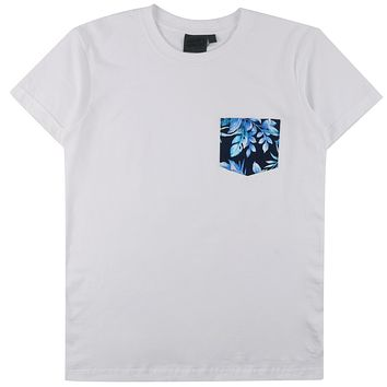 Naked & Famous Denim - Pocket Tee White T-shirt