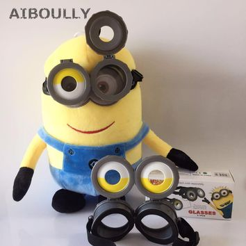 Small Yellow People Glasses Children Favors Party Supplies Decorations Kids Toys Minions Eye Mask Cosplay Props