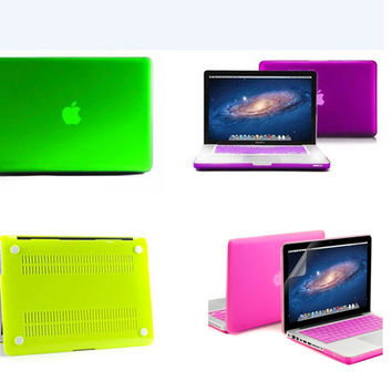 laptop case protector for mac book+ keyboard cover/matte four colors protective shell for macbook pro 13/retina 12 13 Air 11 13