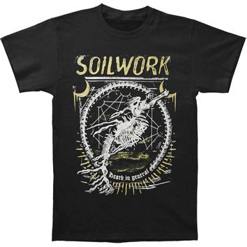 Soilwork Men's  Death In General - Sail On T-shirt Black