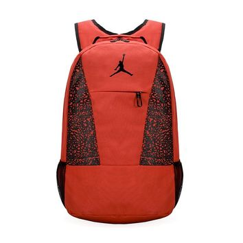 fe1270b0139c Jordan Casual Pattern Shoulder Bag School Backpack Travel Bag