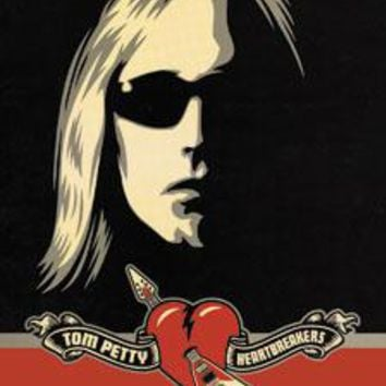 Tom Petty Vinyl Sticker Sunglasses Logo