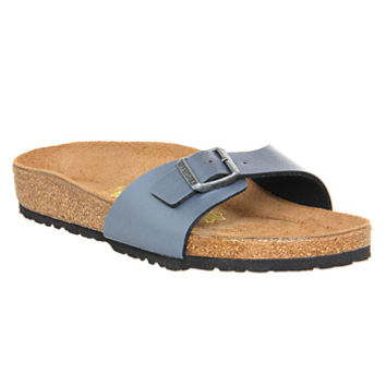 Birkenstock Madrid 1 Bar Mule Onyx Grey - Sandals