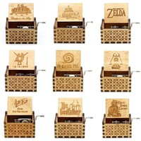 29 Types In Stock Wood In Music Box Happy Birthday Let It Go Beauty And The Beast Angels Love Beauty Suitable Christmas Gift