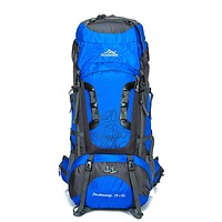 80L Large Waterproof Camping / Hiking Backpack