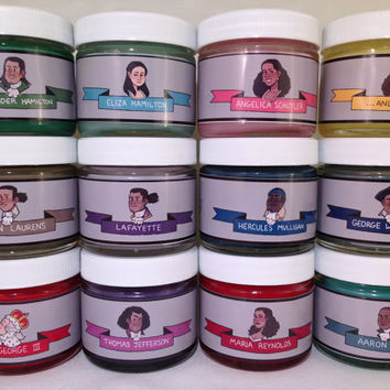 3-PACK MINI Hamilton Fandom-Inspired Soy Candles