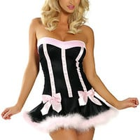 Black Bunny Party Costume
