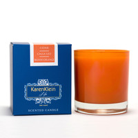 Karen Klein Countryside Collection - Cedar, Calla Lily & Blood Orange Candle