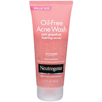 Neutrogena Oil-Free Acne Wash Pink Grapefruit Foaming Scrub Ulta.com - Cosmetics, Fragrance, Salon and Beauty Gifts