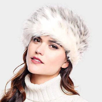 Furry Faux Fur Russian Hat (Click For More Colors)