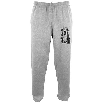 Bulldog Crown Mens Sweatpants