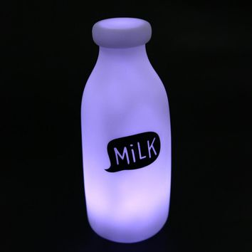 Milk Bottle Led Night Lamp