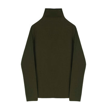 Olive Green Turtleneck