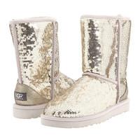UGG Classic Sparkles Black - Zappos.com Free Shipping BOTH Ways