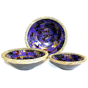 Mosaic Offering Bowls