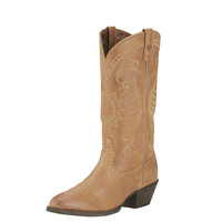 Ariat Womens Golden Tan Magnolia Western Cowgirl Boot