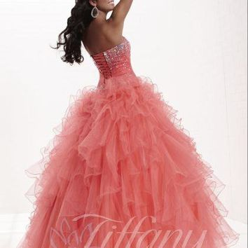 Tiffany 16909 at Prom Dress Shop
