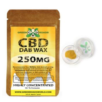 CBD Dab Wax (250 mg)