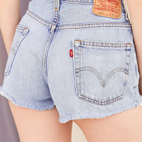 Urban Renewal Recycled Levi's Rolled Hem Denim Short | Urban Outfitters