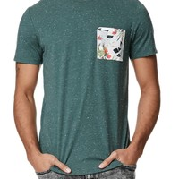 On The Byas Clay Nep Pocket T-Shirt - Mens Tee - Green