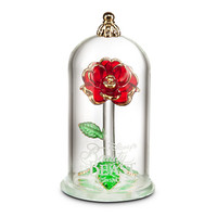 Disney Beauty and the Beast Enchanted Rose Glass Sculpture by Arribas - Small | Disney Store
