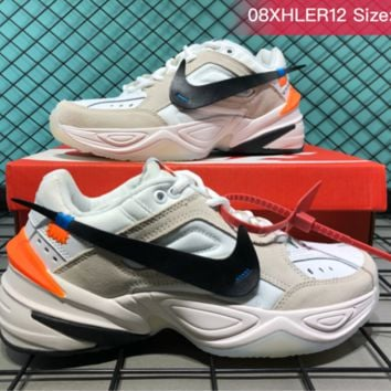 Nike AIR MONARCH4 M2K TEKNO Casual Running Shoes Grey