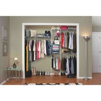 ClosetMaid 5' to 8' Closet Organizer Kit - White