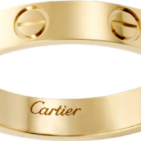 LOVE wedding band: LOVE wedding band, 18K yellow gold.