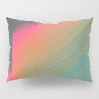 Sunset Tide Pillow Sham by DuckyB
