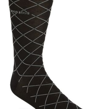 BOSS RS Design Modern Argyle Socks | Nordstrom