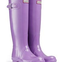 Hunter Original Tall Gloss Wellies (Lavender) *Official UK Stockist* RRP 84.99