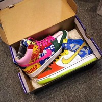 "Nike SB Dunk High ""What The Doernbecher""  Doernbecher"