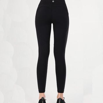 Lululemon Women Fashion Yoga Sport Tight Stretch Pants Trousers