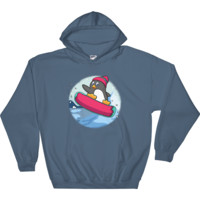 Penguin Hoodie For Men | Funny Zoo Animal Sweatshirt | The Jazzy Panda