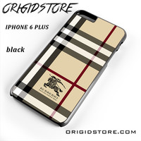Burberry For Iphone 6 Plus Case UY