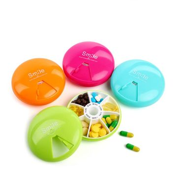 7 Day Weekly Pill Travel Medicine Box Dispenser Capsule Holder Organiser Case Pill Organizer
