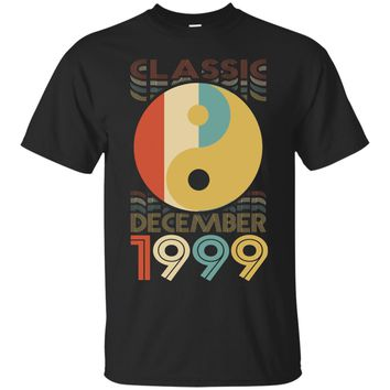 Classic Yin Yang Retro December 1999 18th Birthday Gift 18