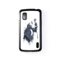 Wolf Song 3 Hard Plastic Case Black for Google Nexus 4 by Balazs Solti