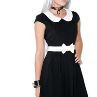 Sourpuss Clothing Lizzie Dress Black