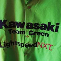 GRAND PRIX APPAREL KAWASAKI SHIRT GREEN BIKERS DREAM !SIZE XL!MADE IN USA