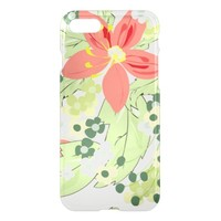 Elegant Orange Flower iPhone 8/7 Case