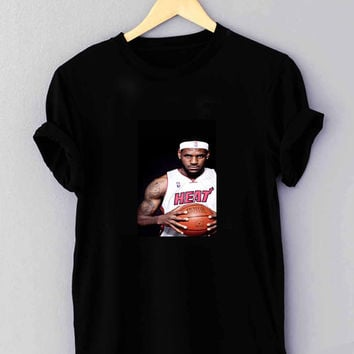 "Lebron James Heat NBA Nike Basketball - T Shirt for man shirt, woman shirt ""NP"""